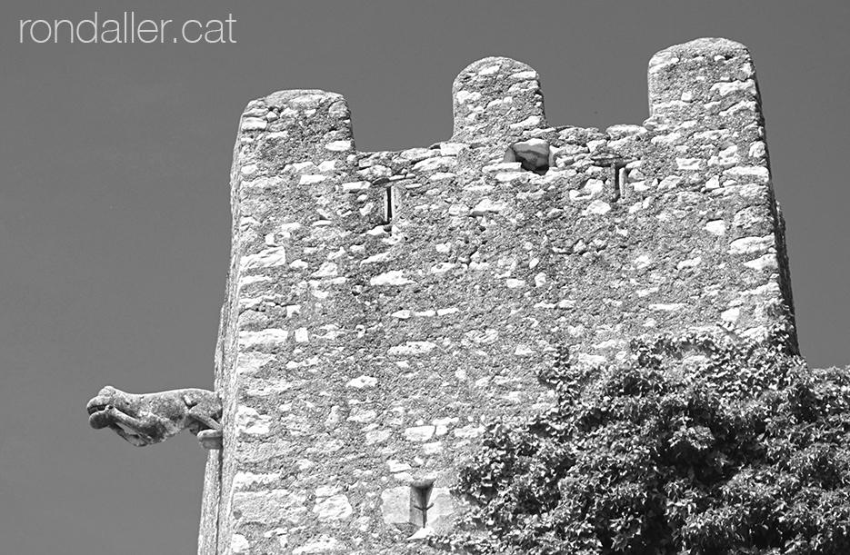 Torre de Ca la Miquelina, una de les tres defenses que han sobreviscut a Creixell.